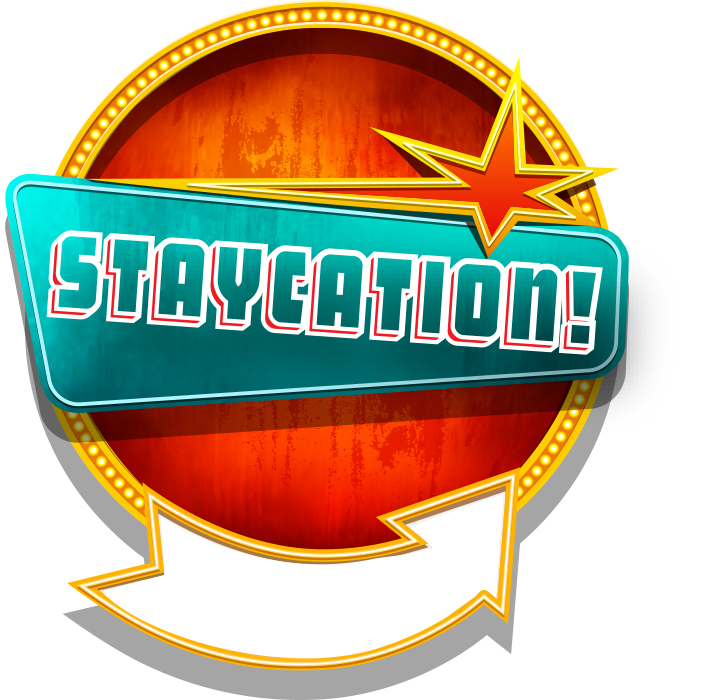 EDITED staycation badge spring