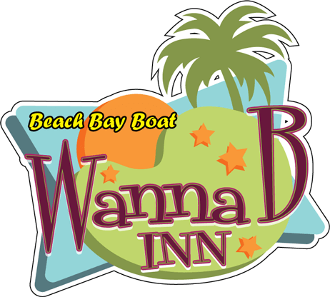 WannaB Inn logo - Beach Bay Boat